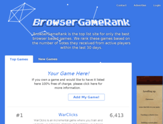 browsergamelist.net screenshot