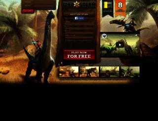 browsergames.dinostorm.com screenshot