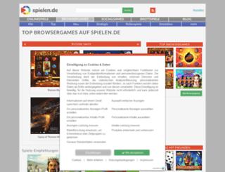 browsergames.spielen.de screenshot