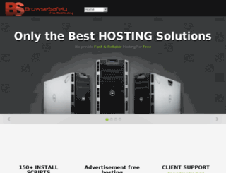 browsesafely.org screenshot