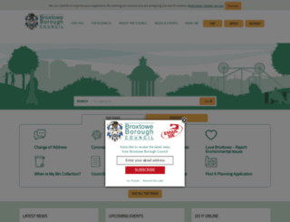 broxtowe.gov.uk screenshot