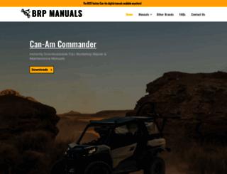 brpmanuals.com screenshot