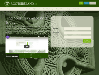 brsgenealogy.com screenshot
