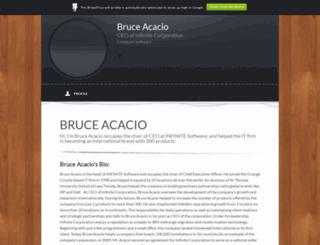 bruceacacio.brandyourself.com screenshot