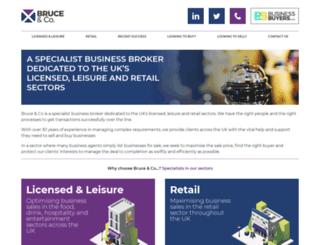 bruceandco.co.uk screenshot