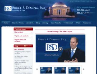 brucedeming.fosterwebmarketing.com screenshot