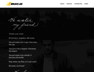 brucelee.com screenshot