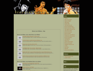 bruceleevideos.org screenshot