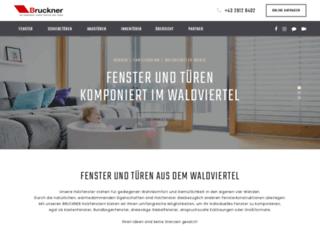 bruckner.co.at screenshot