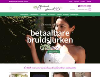 bruidsmodejolanda.nl screenshot