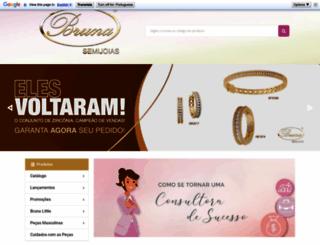 brunasemijoias.com.br screenshot
