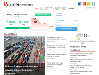 bruneinews.net screenshot