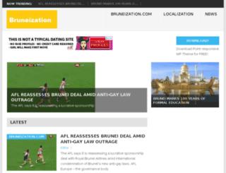 bruneization.com screenshot