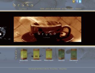 brunocoffee.com screenshot