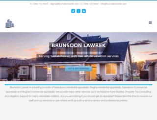 brunsdonjunorjohnson.com screenshot