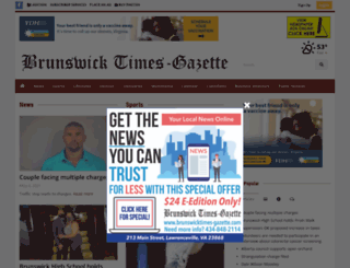 brunswicktimes-gazette.com screenshot