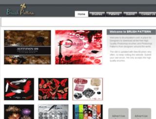 brushpattern.com screenshot
