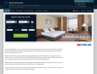 brussels-hotel-belgium.h-rez.com screenshot