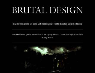 brutaldesign.com screenshot