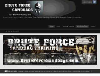bruteforcesandbags.com screenshot