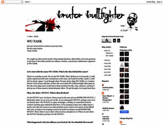 brutorbullfighter.blogspot.pt screenshot
