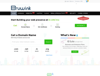 bruwink.com screenshot