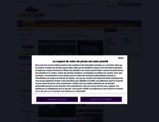 bruxelles.onvasortir.com screenshot