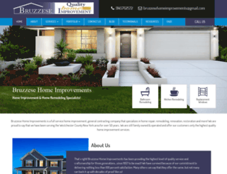 bruzzesehomeimprovements.com screenshot