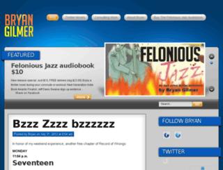 bryangilmer.com screenshot