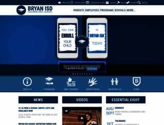 bryanisd.edliotest.com screenshot