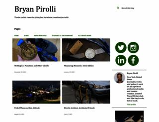 bryanpirolli.com screenshot