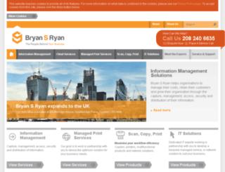 bryansryan.co.uk screenshot