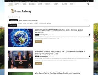 bryantarchway.com screenshot