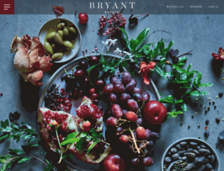bryantwines.com screenshot