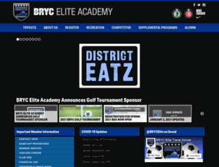brycsoccer.com screenshot