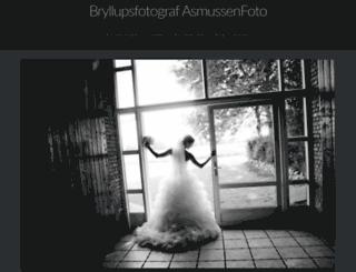 bryllupsfotograf.asmussenfoto.dk screenshot