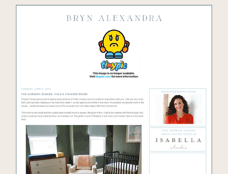 brynalexandra.blogspot.com screenshot