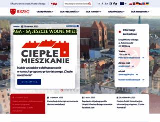 brzeg.pl screenshot