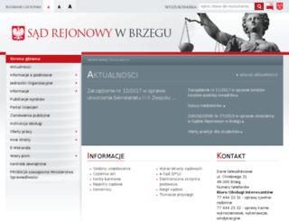 brzeg.sr.gov.pl screenshot