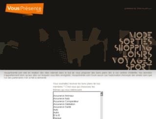 bs-vouspresente.com screenshot