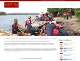 bsatroop200.net screenshot