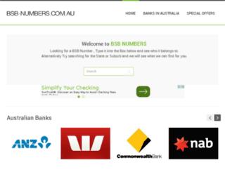 bsbfinder.com.au screenshot
