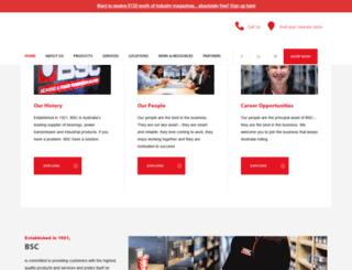 bsc.com.au screenshot