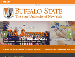 bscacad2.buffalostate.edu screenshot