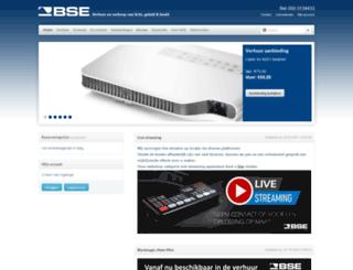 bse-pro.nl screenshot