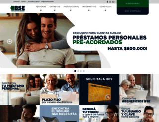 bse.com.ar screenshot