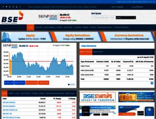 bseindia.com screenshot