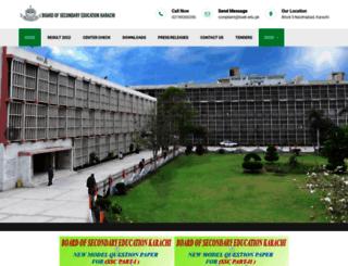 bsek.edu.pk screenshot