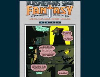 bsfantasy-comic.com screenshot