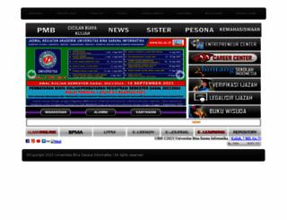 bsi.ac.id screenshot